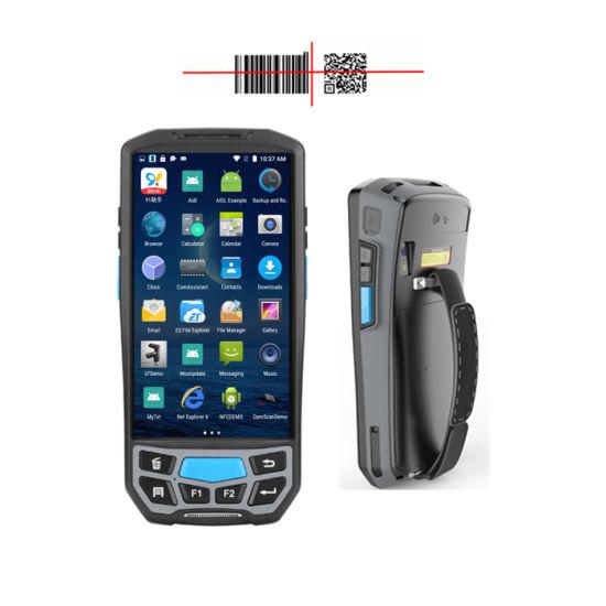 Handheld Android Mobile Wireless Qr Code Reading Portable Mrz Passport  Scanner Ocr Reader