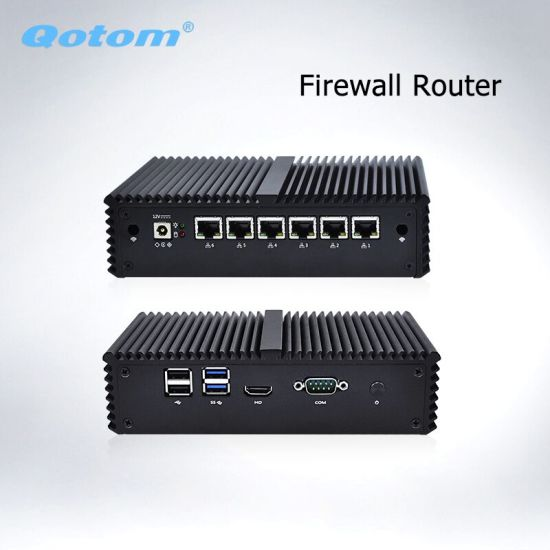 Qotom Q515g6 Pfsense Firewall Router Thin Client Intel Celeron 3865u Dual  Core 6 Gigabit LAN Fanless Mini PC