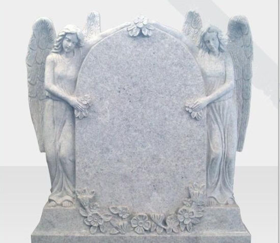 Natural Stone Grey Granite Tombstone Monument SF-012 for Cremetery Garden pictures & photos