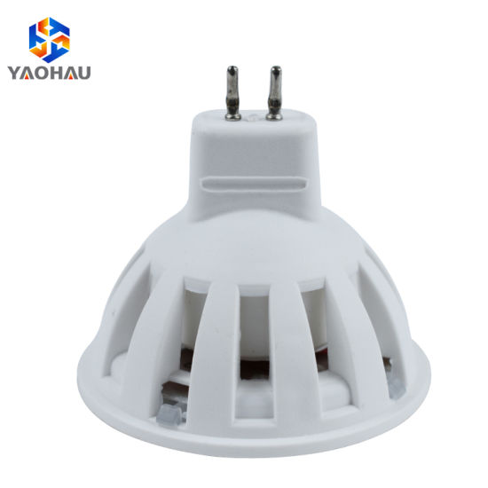 2019 New Products Round Warm White GU10 Plastic SMD 2835 4W LED Lamp Cups Spotlight