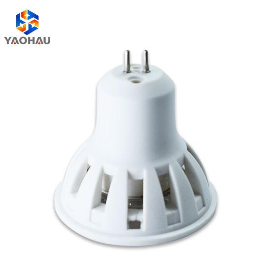 Easy Installation Round Warm White GU10 MR16 Plastic SMD 2835 4W LED Lamp Cups Spotlight