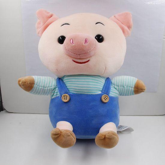OEM Factory Custom Made Logo Teddy Bear Pig China Plush Toy