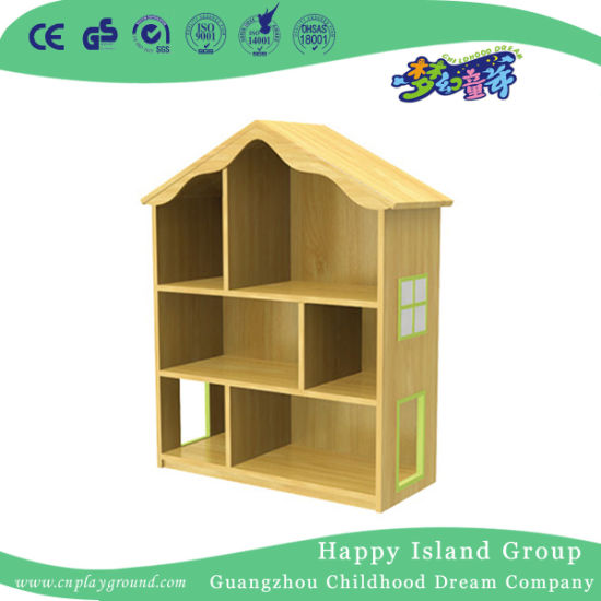Villa Shape Tea Cup Shelf For Kids