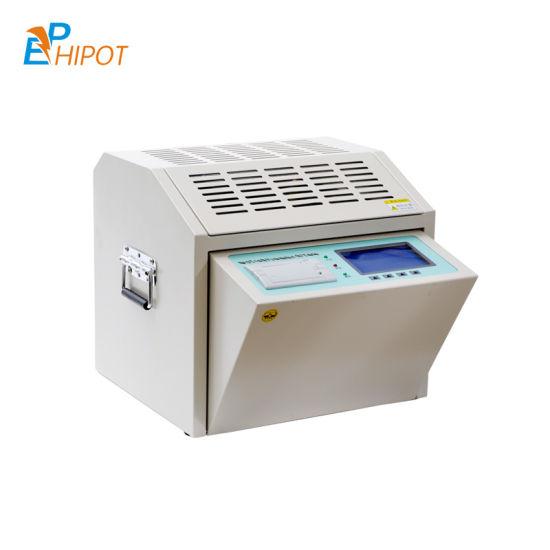 80kv Oil Dielectric Tester Transformer Oil Tester IEC-156 Bdv Tester Motorised Oil Breakdown Voltage Tester