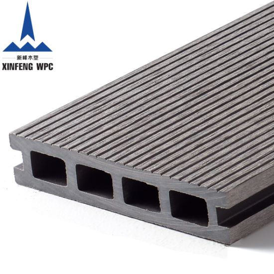 Simple Installed WPC Decking with High Strength and Durability