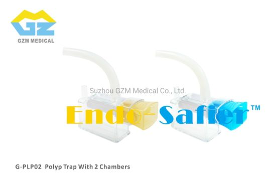 Single Use Polyp Trap-Two Chambers Polyp Trap with 2 Drawers Polyp Trap with Multiple Chambers pictures & photos