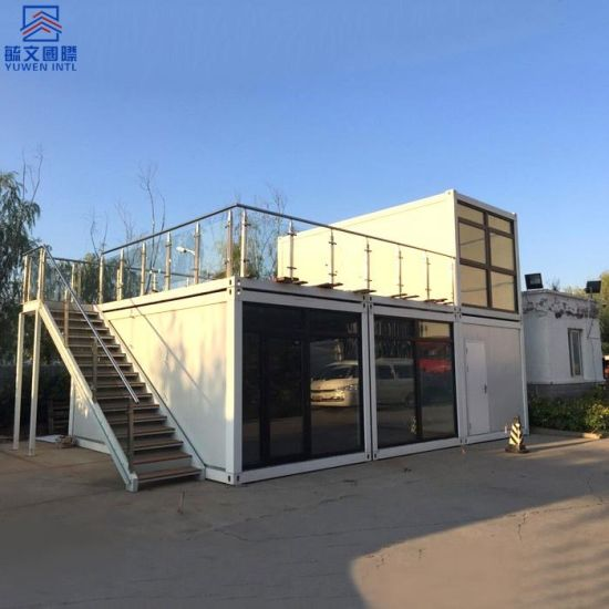 Fast Installing Two-Storey Flat Pack Dormitory Warehouse Temporary Office