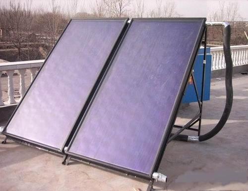 Passive Split Flat Panel Solar Water Heater Pressurized Type