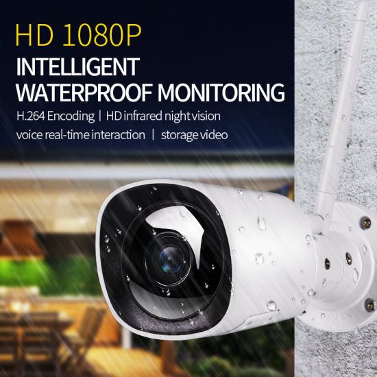 Wholesale Smart Home Universal Waterproof WiFi IP Camera Yet-Wy04