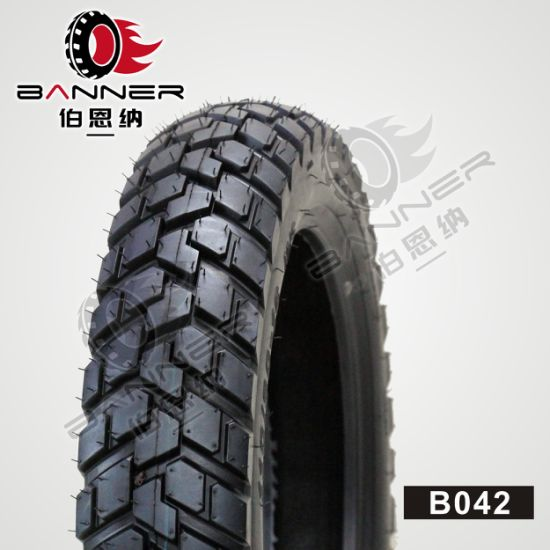 20 Years ISO9001 Factory Wholesale Customized Mixed Pattern 6pr Motor/Motorcycle/Motocross Rubber Tubeless/Tube Tire/Tyre B042 3.00-17 3.00-18