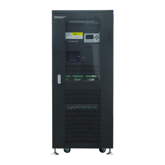 192VDC 10kw Three Phase Hybrid Sine Wave Inverter with 100A Controller
