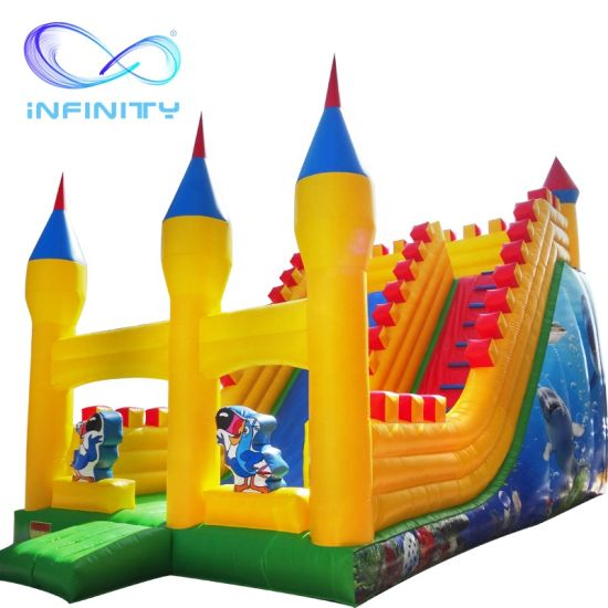 New Commercial PVC Inflatable Slide Jumping Bouncer Princess Inflatable Bouncy Castle Slide for Sale pictures & photos