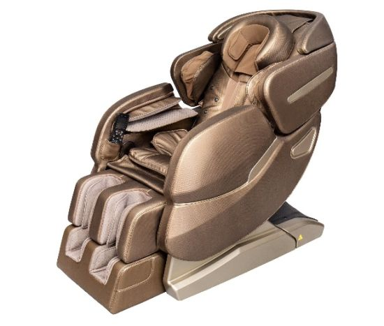 Newest Reluex PU Leather Zero Gravity Luxury Electronic Full Body Massager Chair Latest Design Wholesale Factory Health Equipment Electrol Massage