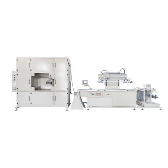 Auto Screen Printing Machine High Imprinting Precision Universal Series Screen Printer
