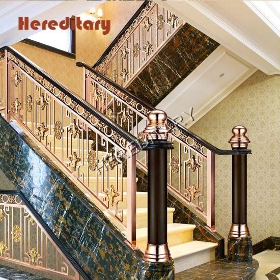 China Interior Iron Balcony Rrailings