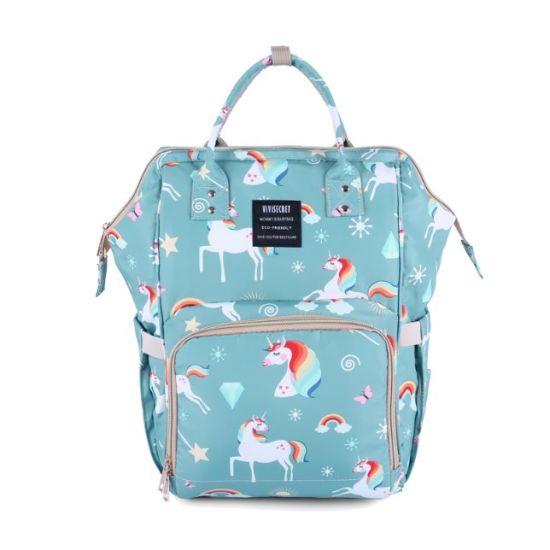 OEM Polyester Mother Nappy Diaper Bag 2020 Vivisecret Changing Baby Maternity Backpack for Mom