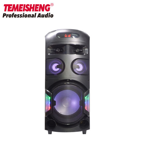 Party Outdoor Portable Speaker with High Power Bluetooth Microphone Speaker