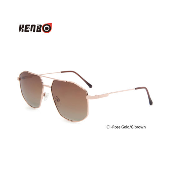 Kenbo New Product 2020 Fashion Polarized Hexagon Sunglasses for Men and Women pictures & photos