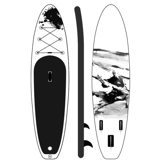 Drop Stitch OEM Custom Design Sup Paddleboard Inflatable Surf Surfboard Surfing Stand up Paddle Board