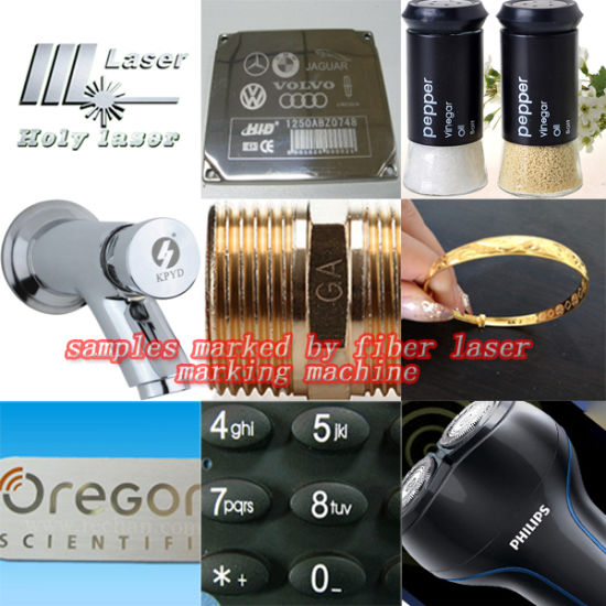 Fiber Laser Metal Marking Machine Hsgq-20W pictures & photos