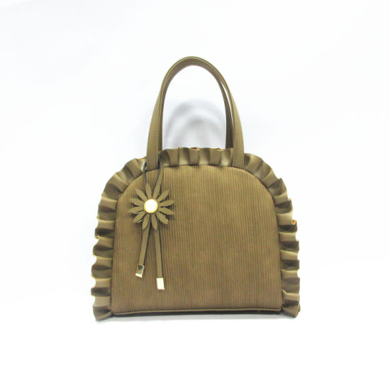 Wholesale Guangzhou Women Bag Market Carteras Ladies Eco Leather Shell Round Handbags in Bulks A8009 pictures & photos