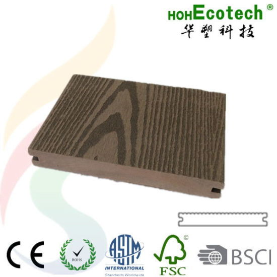 Waterproof Wood Plastic Composite Laminated Flooring