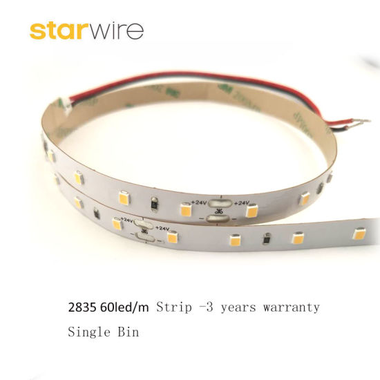 Factory Prcie 3 Years Warranty Flexible/Rigid 60LED/M SMD2835 LED Strip Light for Hotel Office pictures & photos