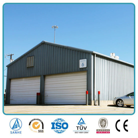 Quickly Assemble Low Cost Steel Prefabricated Sandwich Panels Garage