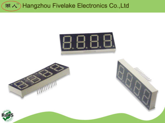 0.8 Inch Quad Digits Seven Segment LED Numeric Display (WD08041-A/B) pictures & photos