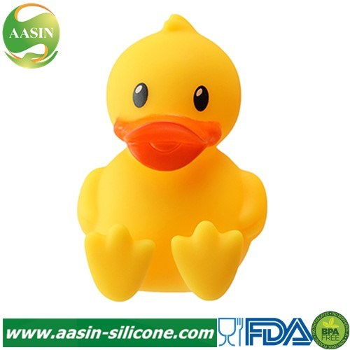Toilet Single Duck Silicone Toothbrush Holder