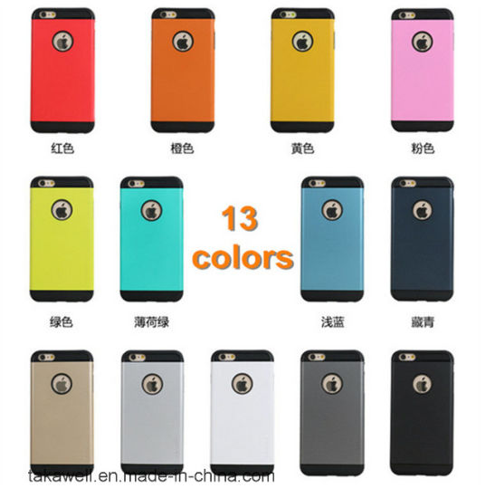 China Wholesale Cell Phone Case Hot Products Slim Armor Case for iPhone 5 6 Mobile Cover Case pictures & photos