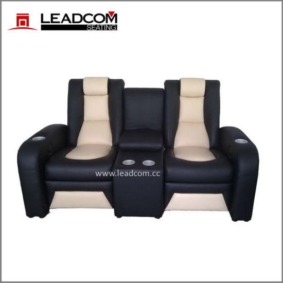 Leadcom Luxury Leather Recliner Sofa Cinema Furniture Ls 811