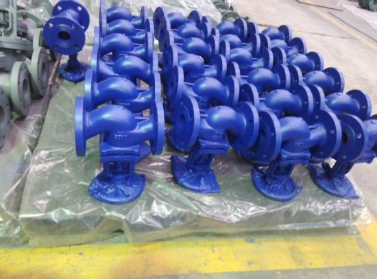 DIN Standard Cast Iron Bellow Sealed Globe Valve pictures & photos