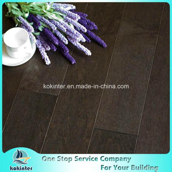 Kok Hardwood Flooring Engineered Canadian Maple Floor Earth