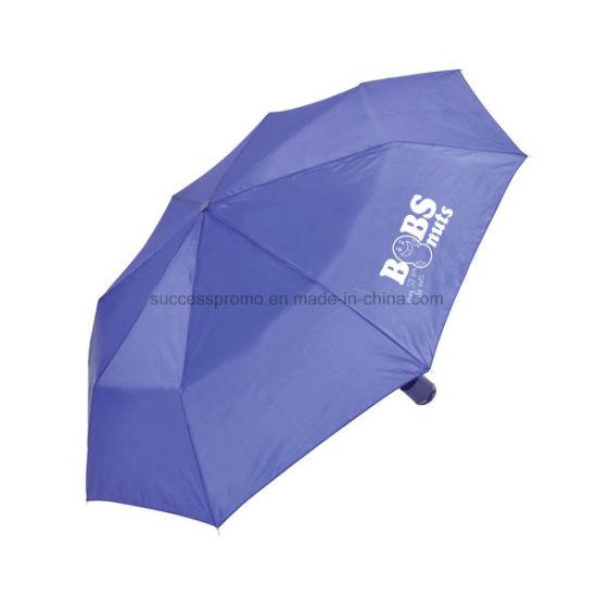 "Promotional 21"" Mini Foldable Umbrella with 8 Panels"