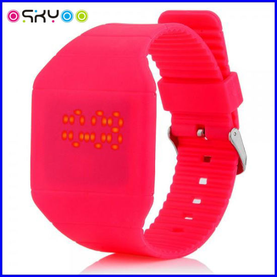 Promotion Gifts Silicon Touch Screen LED Digital Watch