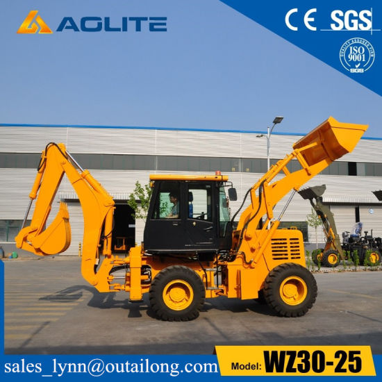 Aolite Wheel Loader 2.5 Ton Wz30-25 Backhoe Loader with Ce pictures & photos