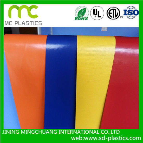 UV Resistant /Water Proof/Fire Retardant PVC Lamination/Coated Tarpaulin/Fabric Rolls for Truck Cover/Tent/Inflatable Fabric/Membrane and Construction  sc 1 st  Jining Mingchuang International Co. Ltd. & China UV Resistant /Water Proof/Fire Retardant PVC Lamination ...