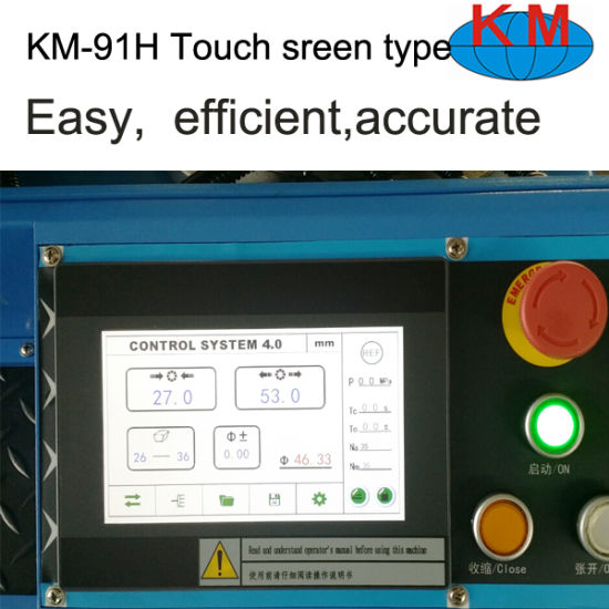 Tounch Screen Crimping Machine Km-91h-5 From China pictures & photos