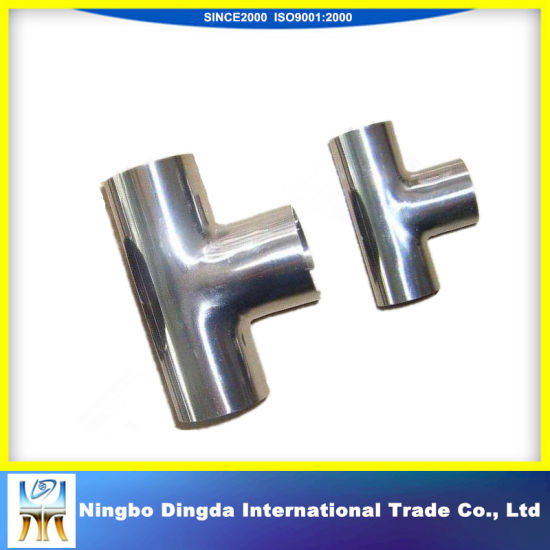 Stainless Steel Seamless Tube and Pipe Fitting Tee