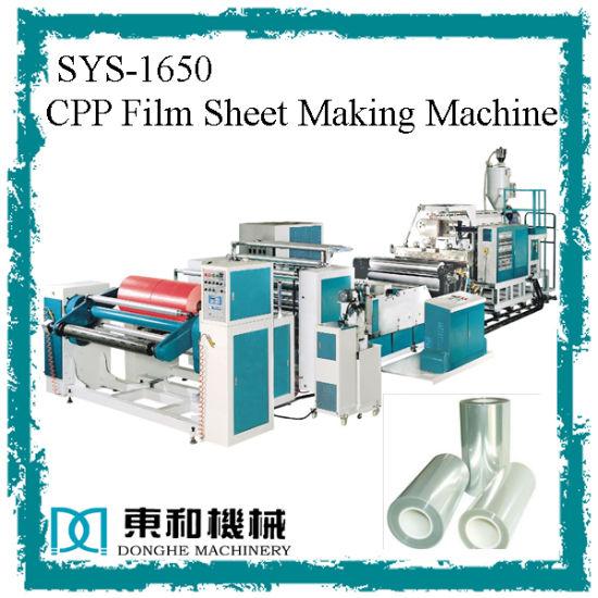 China CPP Film Sheet Making Machine - China Pp Sheet Extruder, Pp