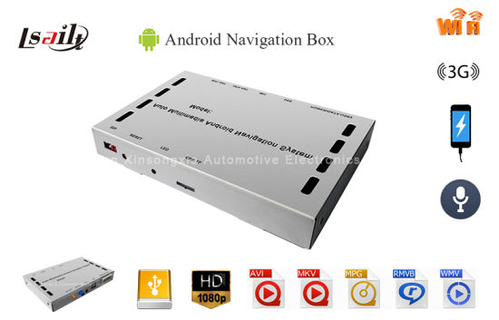 China HD Android Navigation Box with High Definition for Kenwood