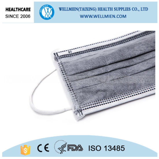 Disposable Black Surgical Mask Personal Protective Face Mask pictures & photos