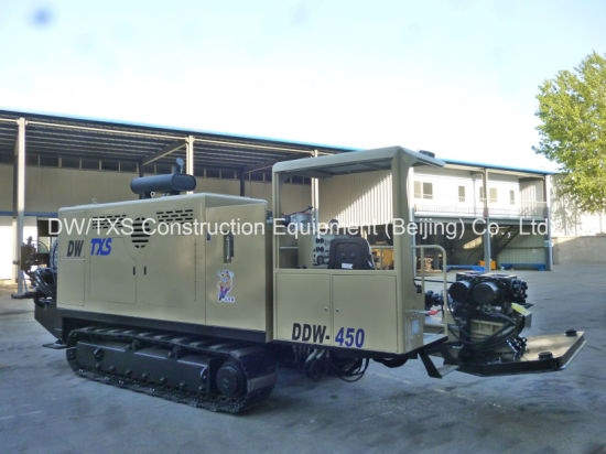China Non-Dig Pipeline Laying Drilling Rig, HDD Machine Ddw- 450