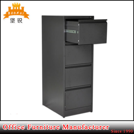 4 Drawer Steel Office Vertical Filing Cabinet pictures & photos