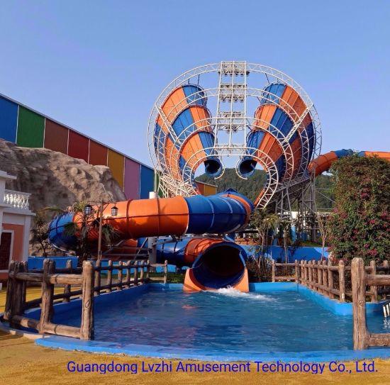 Tornado Water Slide for Aqua Park (WS-031)