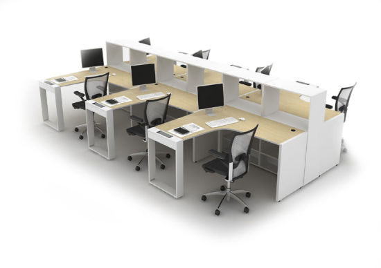 MFC Office Workstation with Partition (OWPL3802-15)