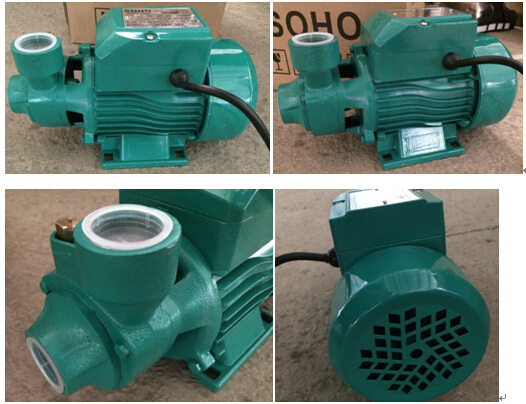 0.55kw/0.75HP Clean Water Pump Qb70 Handle 1inch Outlet pictures & photos