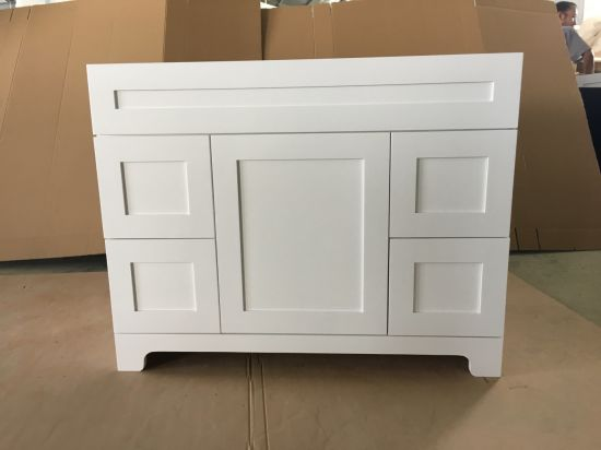 Solid Wood Bathroom Vanity Cabinets Hotel Furniture Wholesales and Project