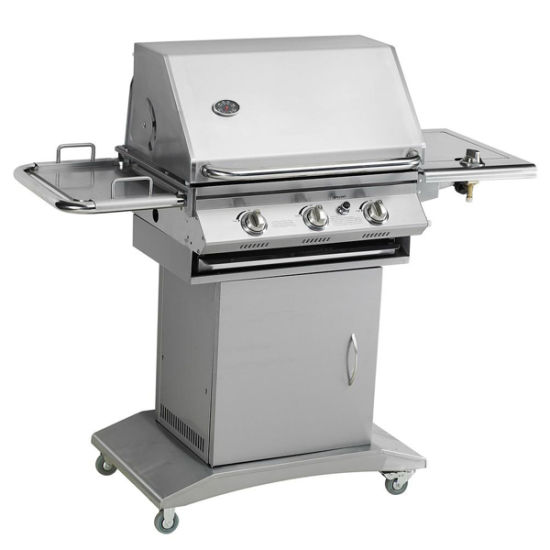 High Quality Stainless Steel 3 Burners Outdoor Gas BBQ
